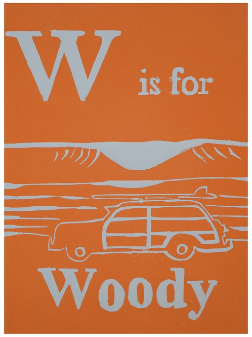 W is for Woody