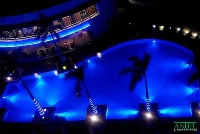 meteor pool lighting