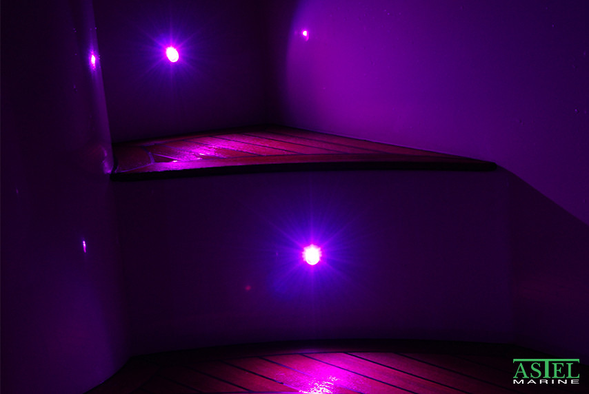 arcus yacht stair lights