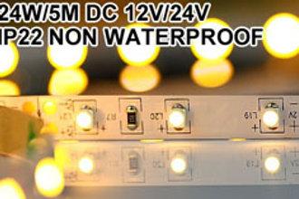 SMD3528 60LEDs/M 4,8W/M CRI>80 DC12V LED Strip Lighting