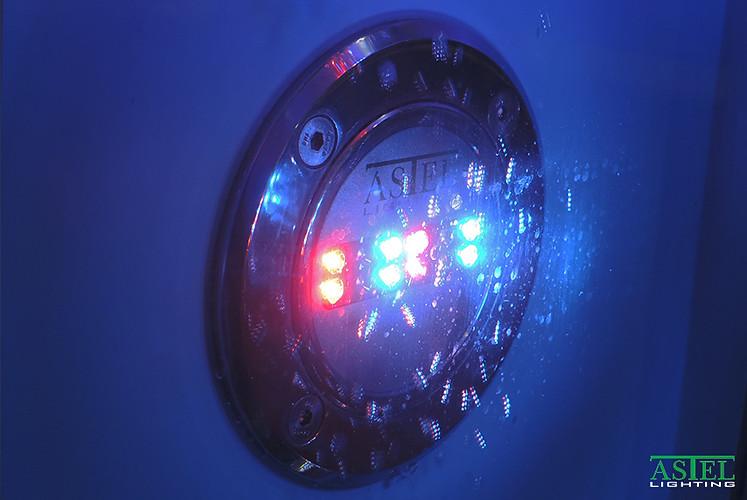 meteor pool lights