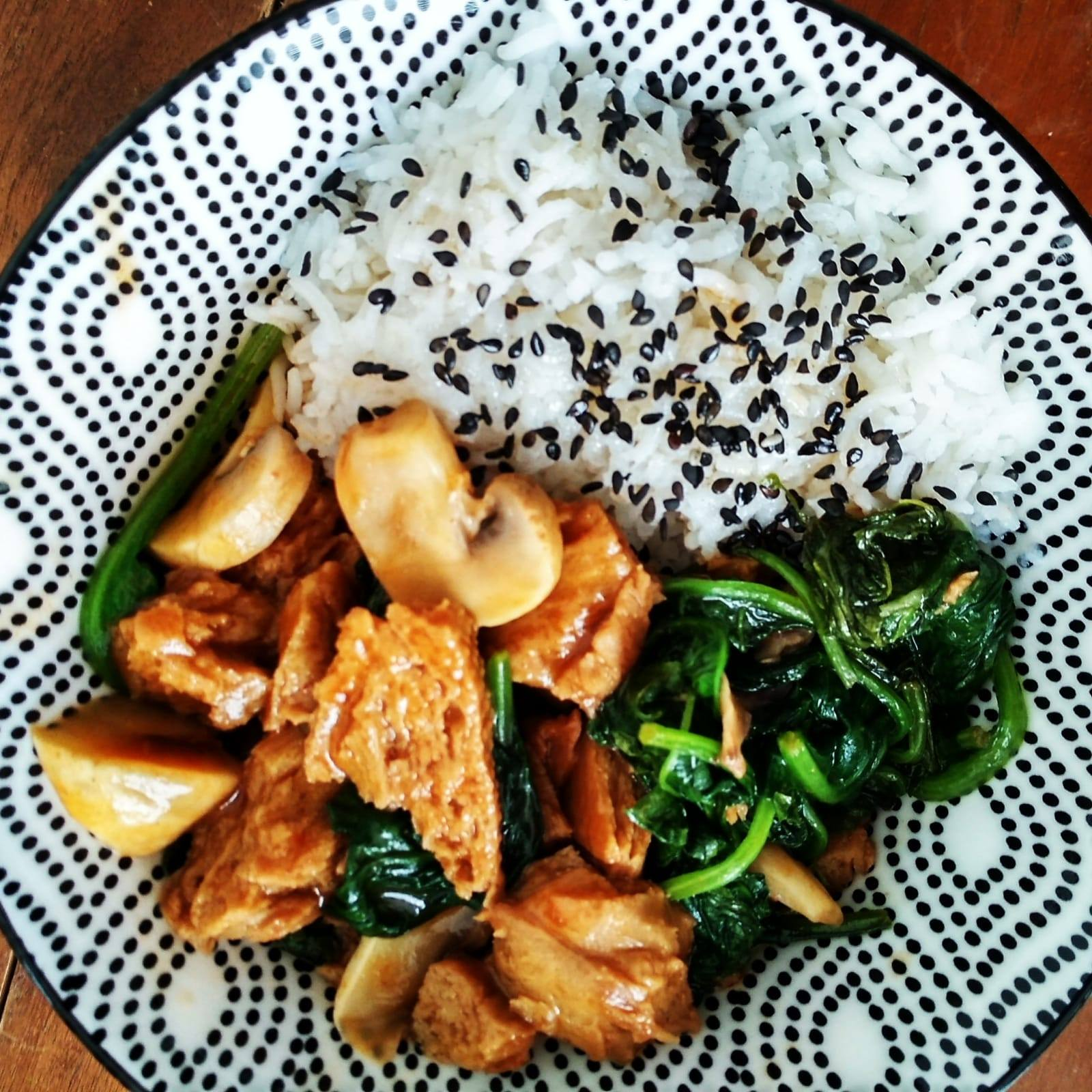 Tasty vegetarian meals
