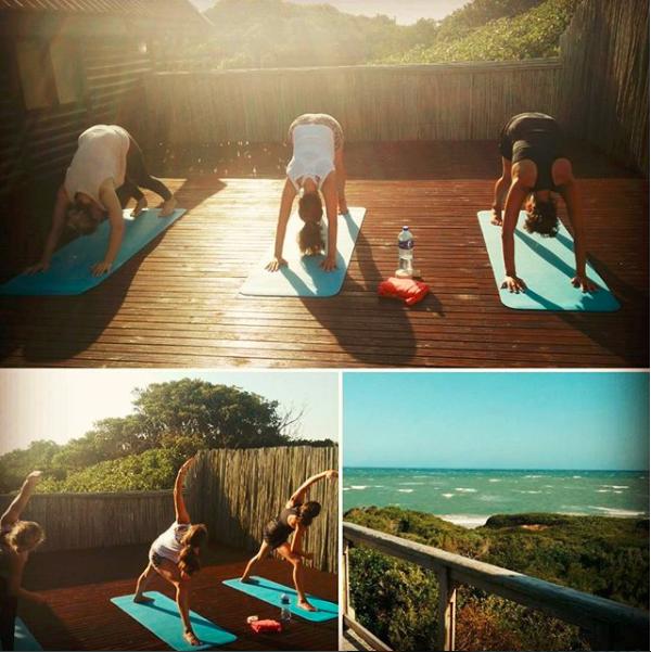 Yoga to balance and unwind body, mind and spirit