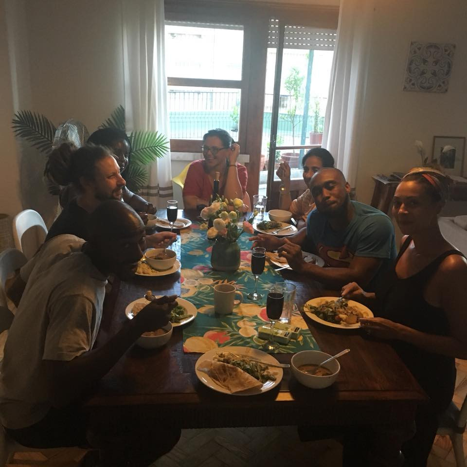 Nourishing meals during retreat and quality talks