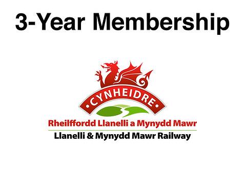 LMMR 3-year Membership