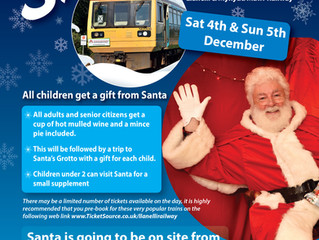 Santa returns to Cynheidre in December!