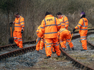 L&MMR in partnership with UK rail training company EYC Global to provide training opportunities