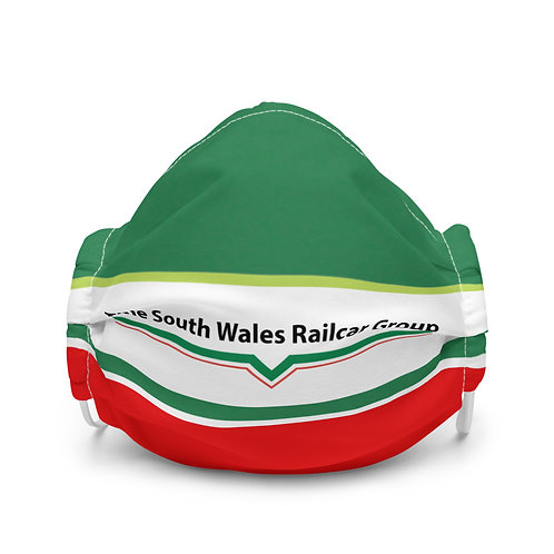 Premium South Wales Railcar Group face mask