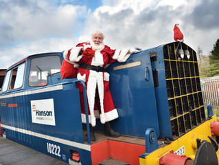 Successful visit for Santa