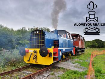 Llanelli & Mynydd Mawr Railway gets on board 'Love Your Railway' nationwide campaign