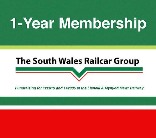 SWRG 1-year Membership