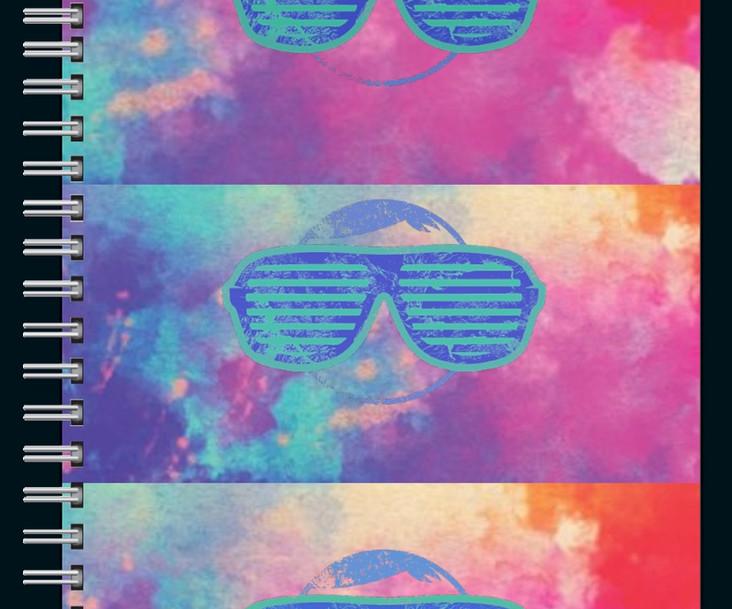 Sunglasses notebook