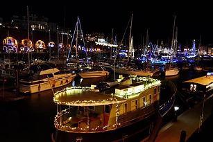 Christmas Harbour at Night BW 1024.jpg