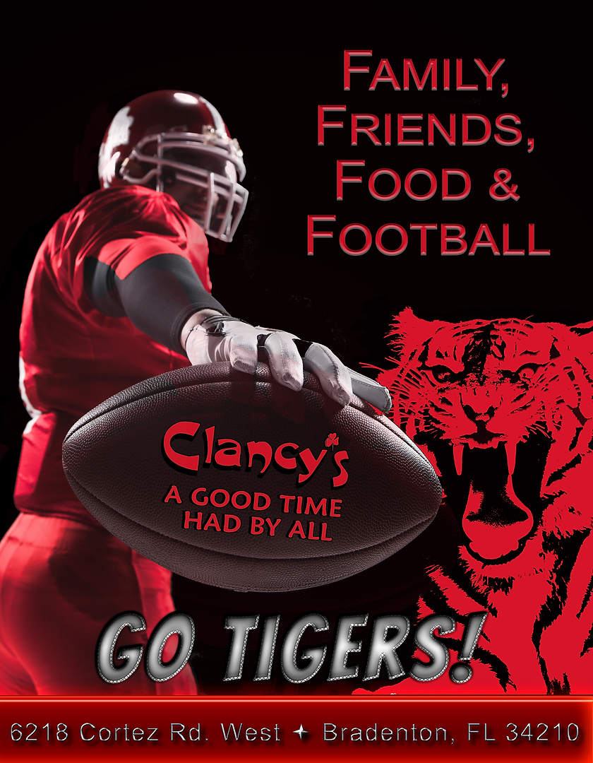 Clancy's Ad for Palmetto High School