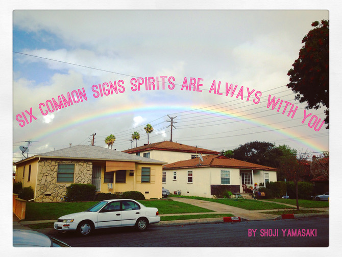 Six Common Signs Spirits Are Always With You