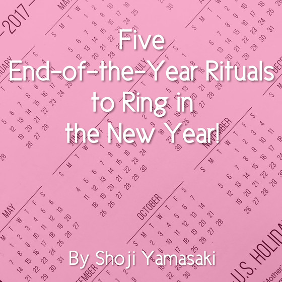 Five End-of-the-Year Rituals to Ring in the New Year!