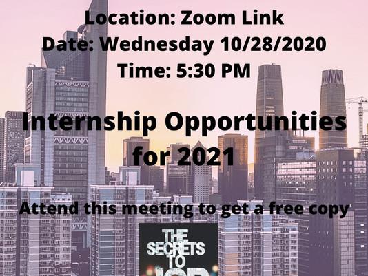 Accounting Society 10/28 Meeting