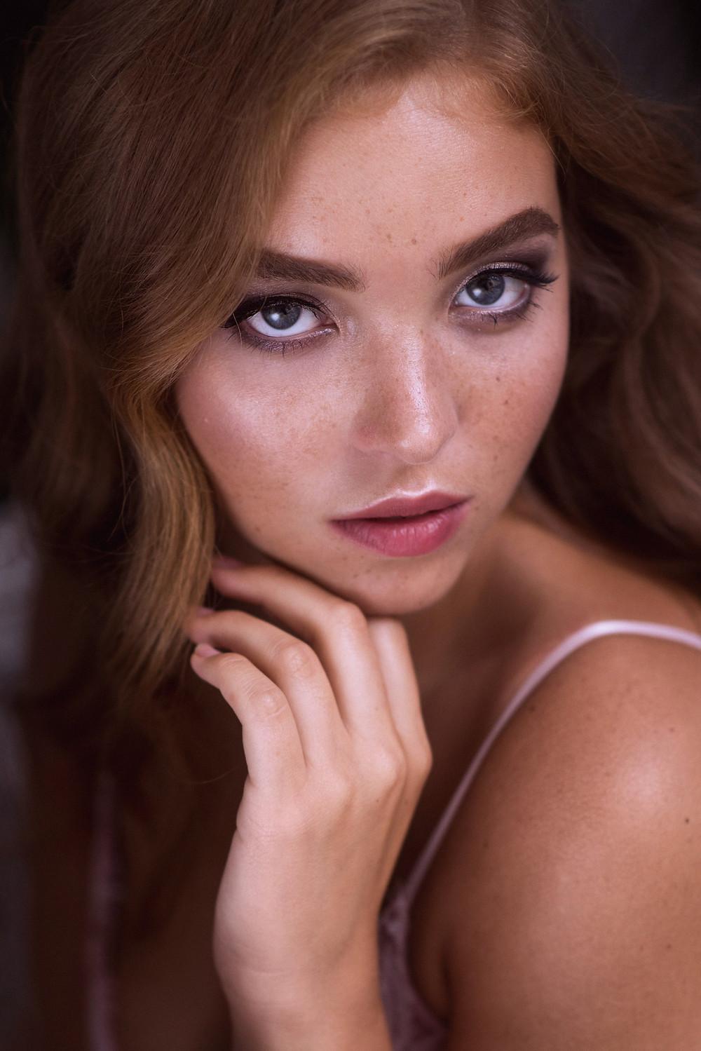 Женский портрет в фотостудии / Индивидуальная фотосессия в Москве