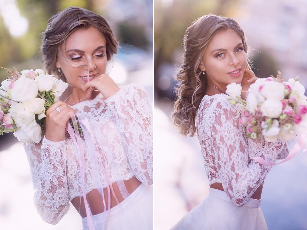 Портрет красивой невесты, фотограф Наталия Мужецкая
