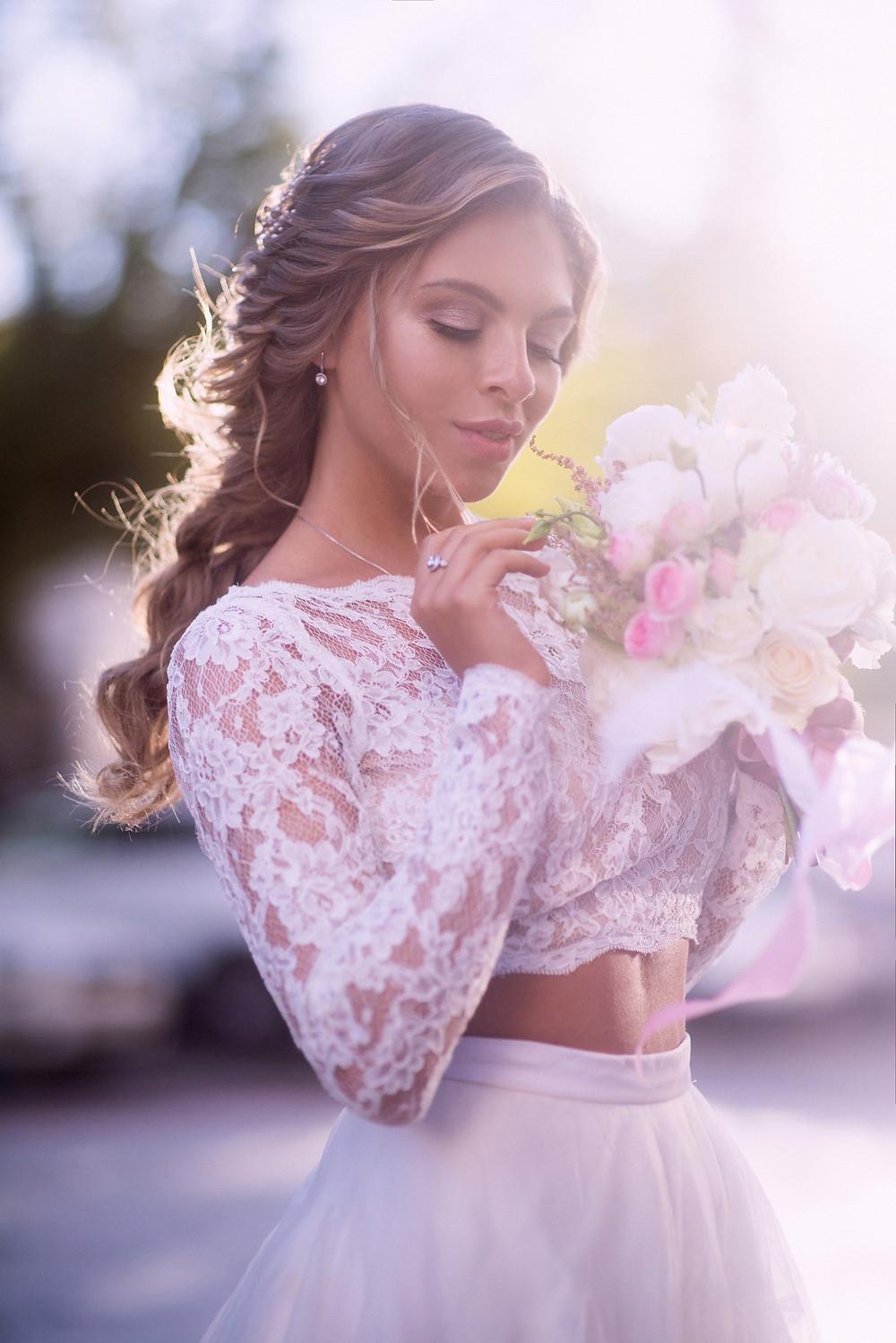 Портрет невесты, фотограф Наталия Мужецкая