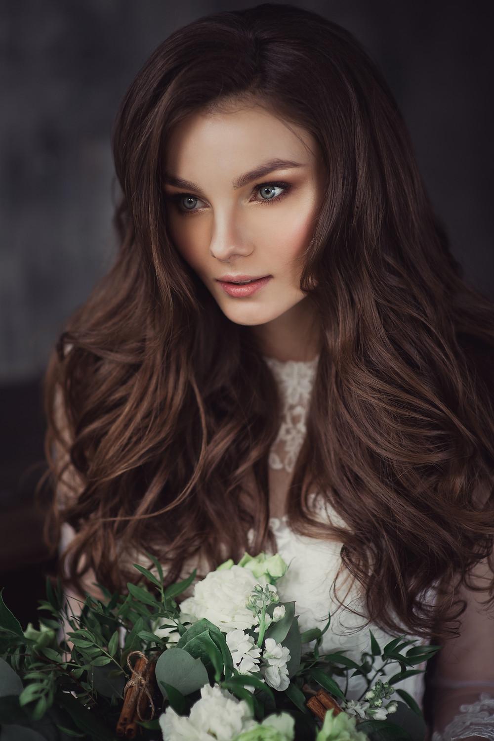 Фотосессия свадебных образов для портфолио стилиста
