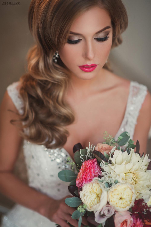 Портрет невесты, фотосессия свадебных образов в Москве