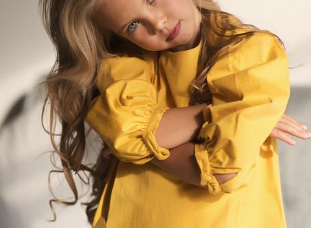 Детская модельная фотосессия в Москве