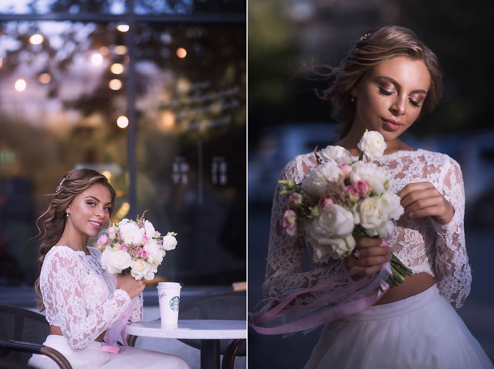 Портрет невесты. Фотограф Наталия Мужецкая