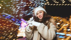Новогодняя фотосессия на улице в Москве