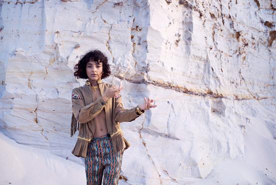 Портрет Сабрины Багировой - фотосессия для певицы. Фотограф Наталия Мужецкая