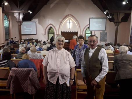 Easter Offering dedication service