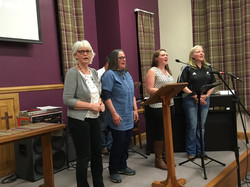 Moving Mountains 13 N on Lune Praise Evening