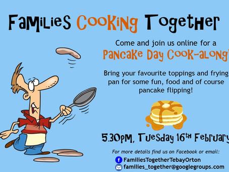 Join us for Pancake Day Fun!