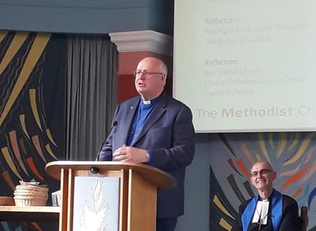 Farewell service for Rev Richard Teal