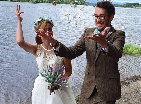 Wedding of Elliot and Emma