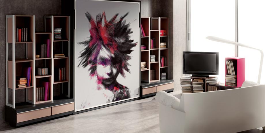 Fotomurales para habitación. Especialista en vinilos decorativos en Zaragoza, Huesca, Teruel. También realizamos servicios de impresión digital y colocación de vinilos decorativos a nivel nacional
