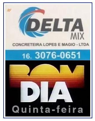 DELTA MIX CONCRETEIRA - BOM DIA!  QUINTA