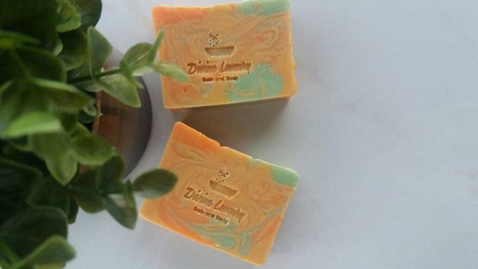 Citrus Delight Artisan Cold Process Soap