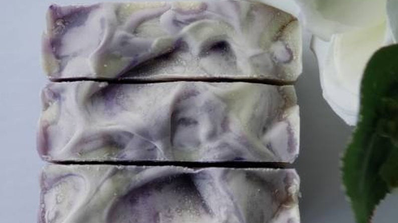 Lavender Dreams Artisan Cold Process Soap