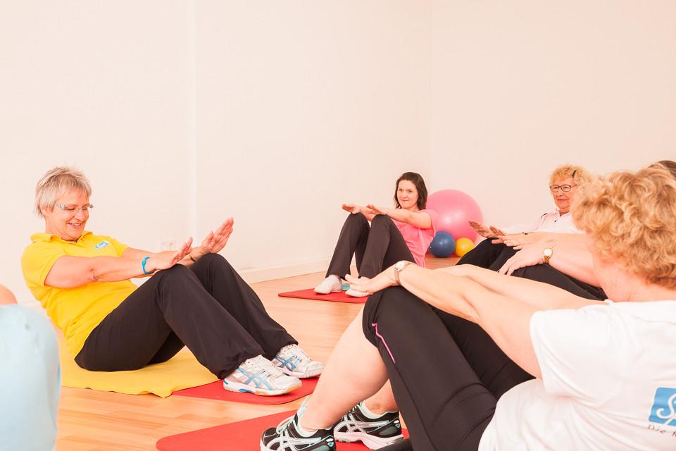 Kurse im Fitnessstudio für Frauen