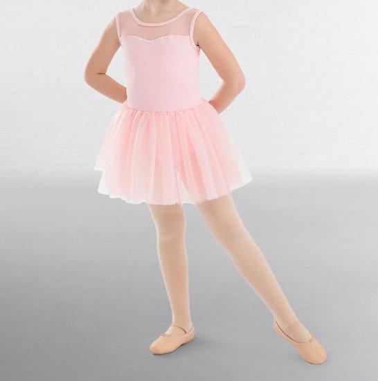 Girls Pink Ballet Dress