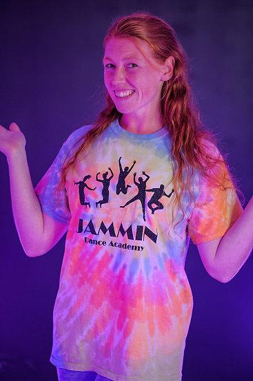Adult Jammin Dance Academy Tye-Dye T-Shirt