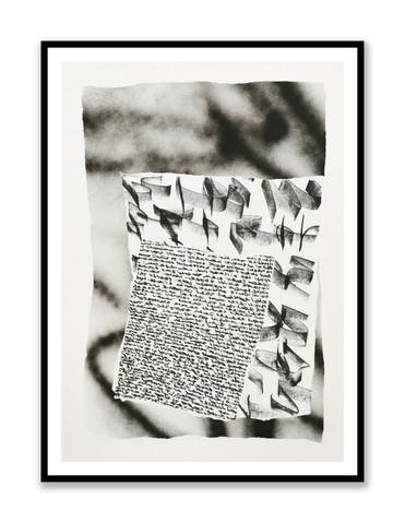 Etude papier noir et blanc 1