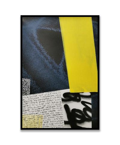 Etude bleu et jaune 1