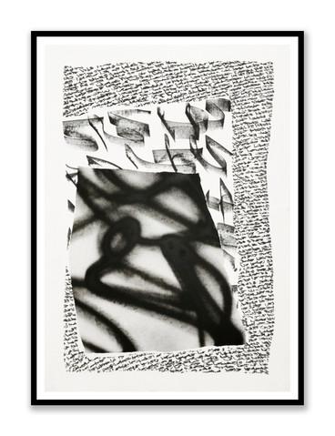 Etude papier noir et blanc 2