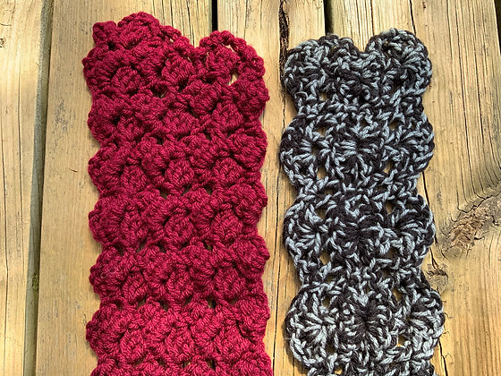 Simple Lace Scarf