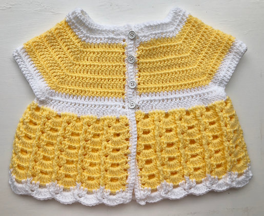4-Button Baby Dress