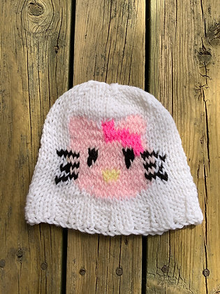 Child's Simple Kitty Hat
