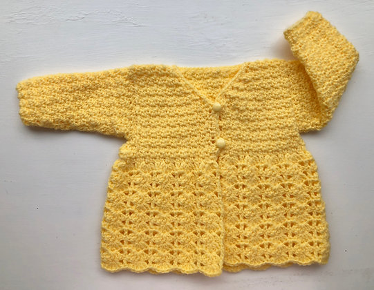 2-Button Baby Sweater