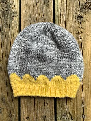 Scalloped Design Child's Hat